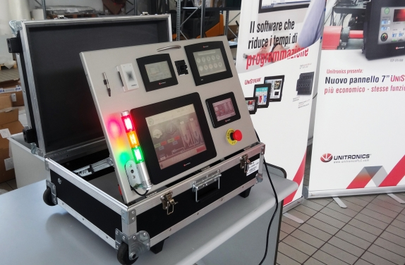 Corner Unitronics nella sede di Provide Solution